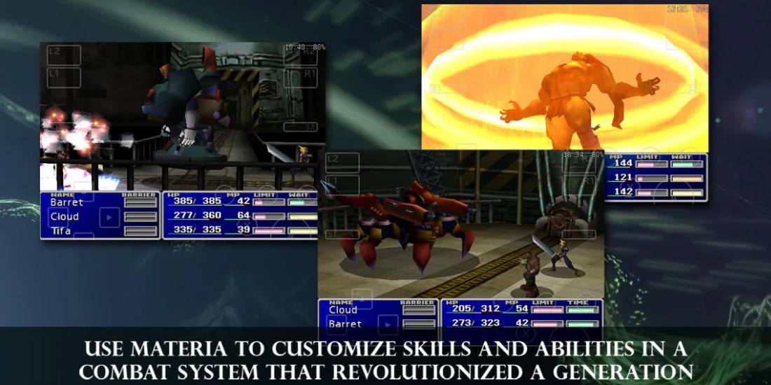 Final Fantasy VII comes to Android smartphones and tablets 1