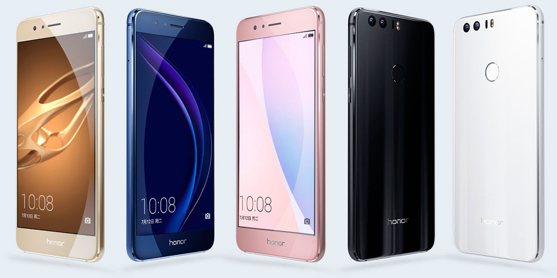Huawei presented Honor 8, new Android smartphone with dual rear camera 1