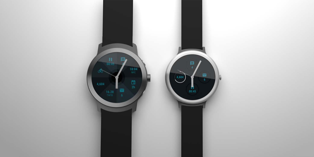 Posibles renders de los dos smartwatches Nexus de Google 1
