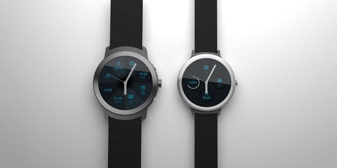 Possivel render de dois smartwatches Nexus da Google 1