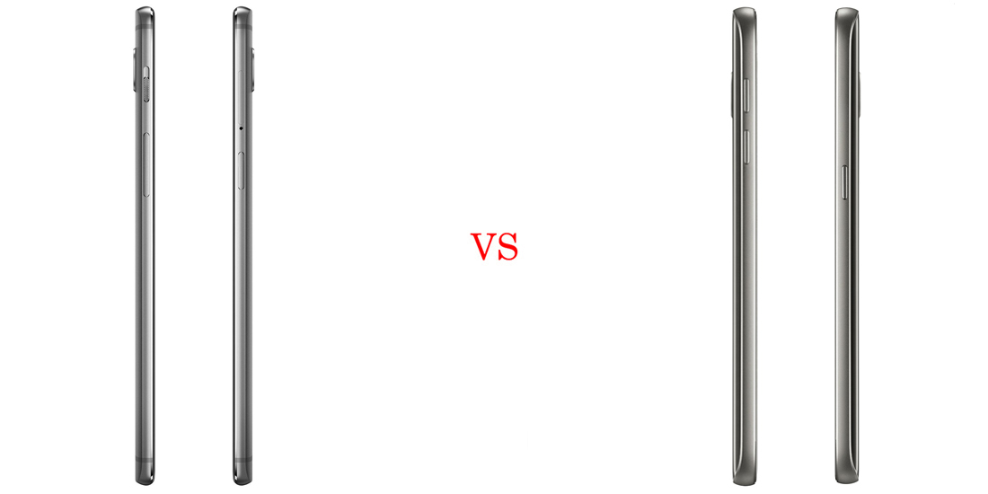 OnePlus 3 vs Samsung Galaxy S7 4