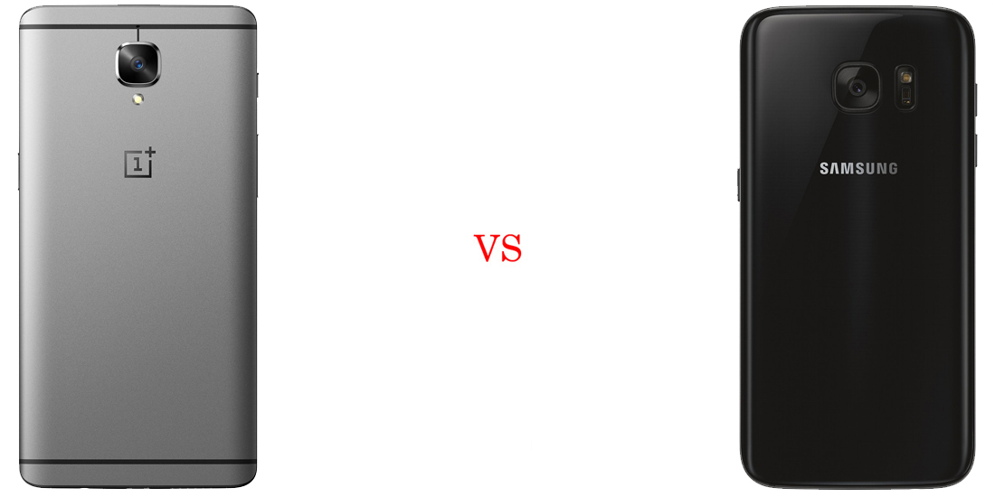 OnePlus 3 versus Samsung Galaxy S7 - Comparativo 3