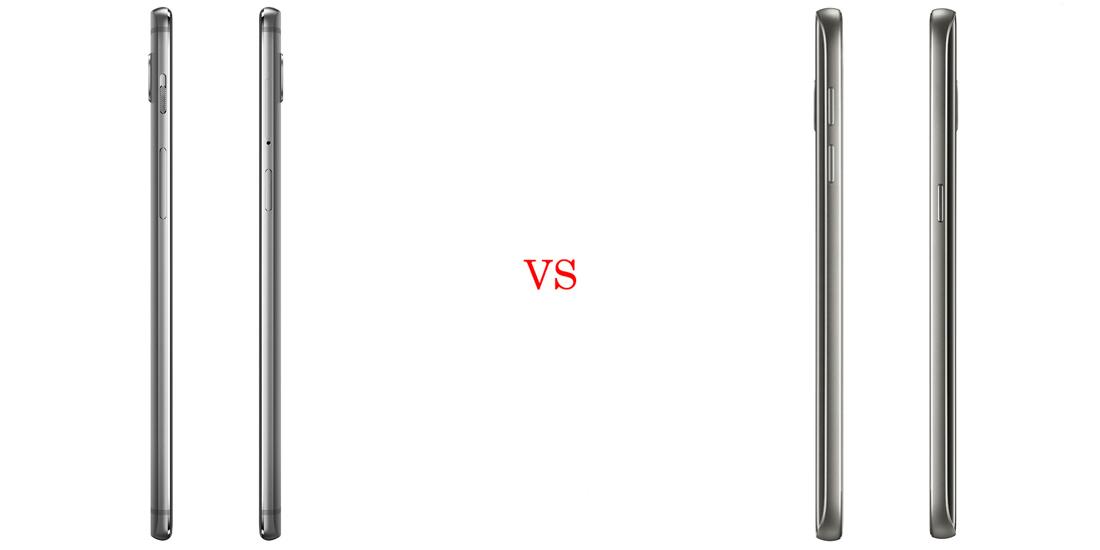 OnePlus 3 vs Samsung Galaxy S7 - Comparativo 4