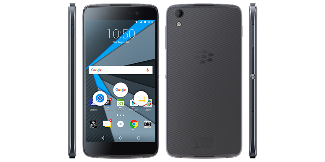 BlackBerry DTEK50 disponible en su web oficial por 429 dolares 1