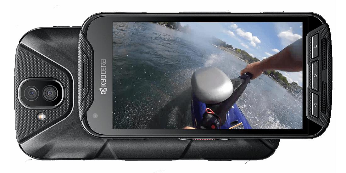 Kyocera DuraForce Pro oficial, smartphone ultra-resistente e action cam 1