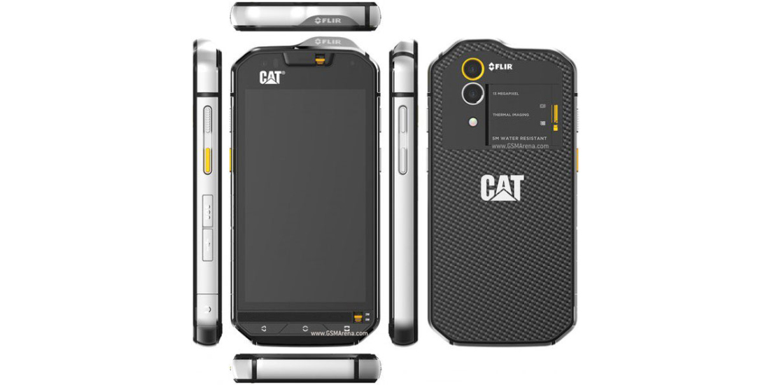 CAT S60, waterproof smartphone with thermal camera 1