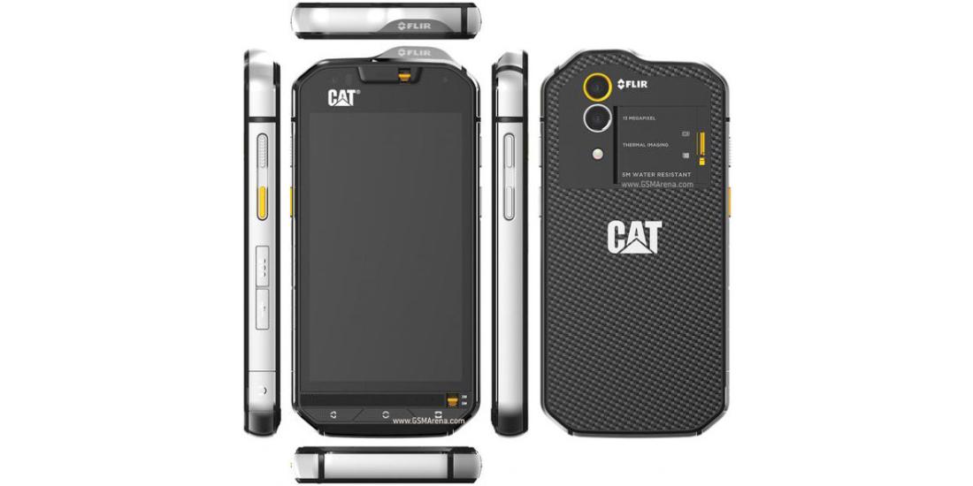 CAT S60, smartphone impermeavel com camera termica 1