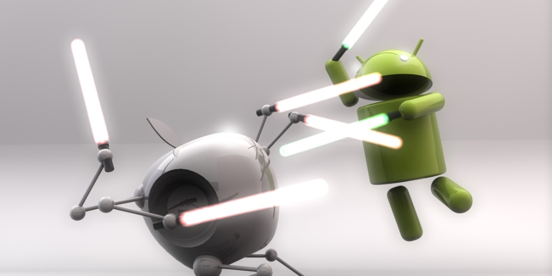 Android and iOS own 99% market share and Windows becomes almost nonexistent 1