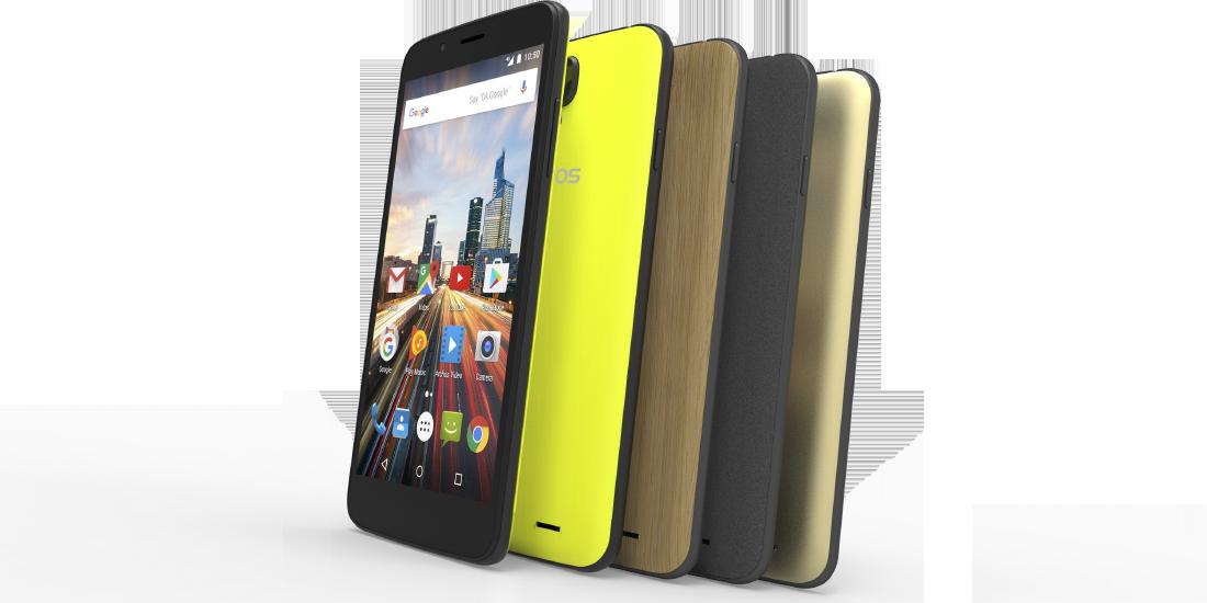 Archos presenta nuevos smartphones Helium en la IFA 2016 1