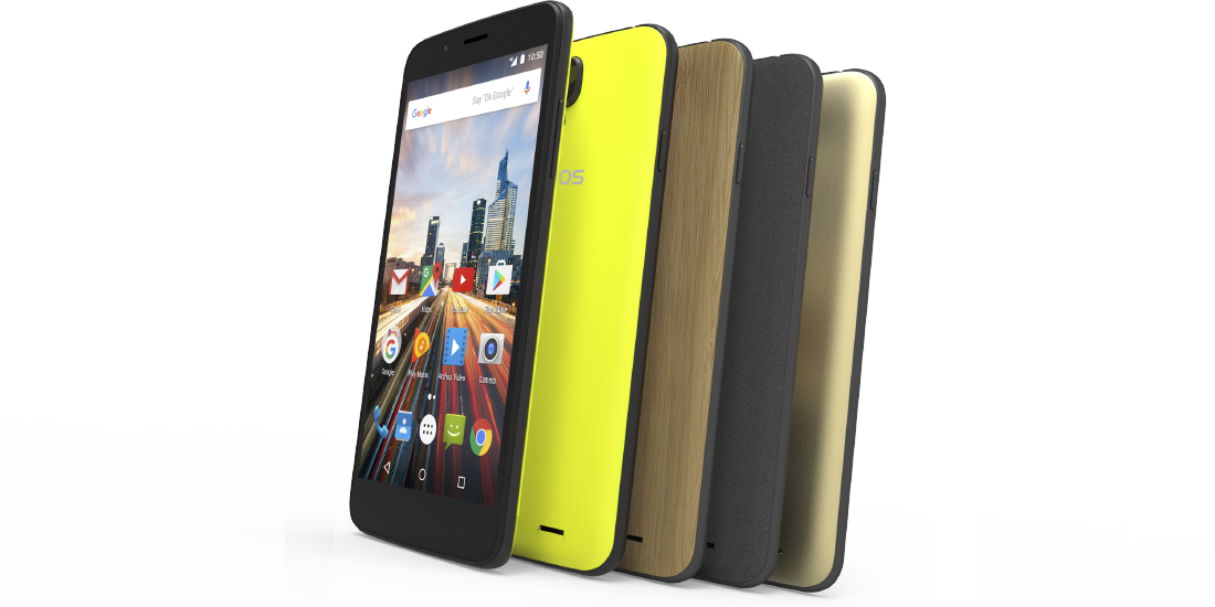 Archos presents new smartphones Helium at IFA 2016 1