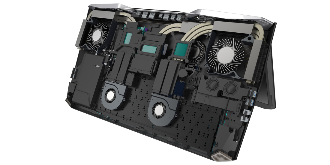 Acer presenta Predator 21 X, un ordenador portatil gaming con pantalla curva 2
