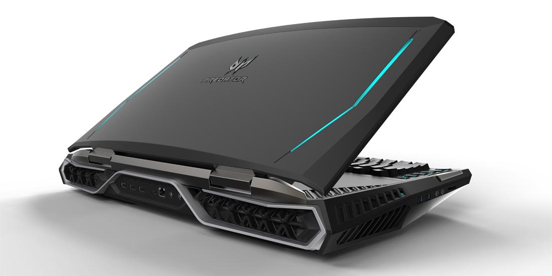 Acer apresenta Predator 21 X, um laptop gaming com tela curva 1