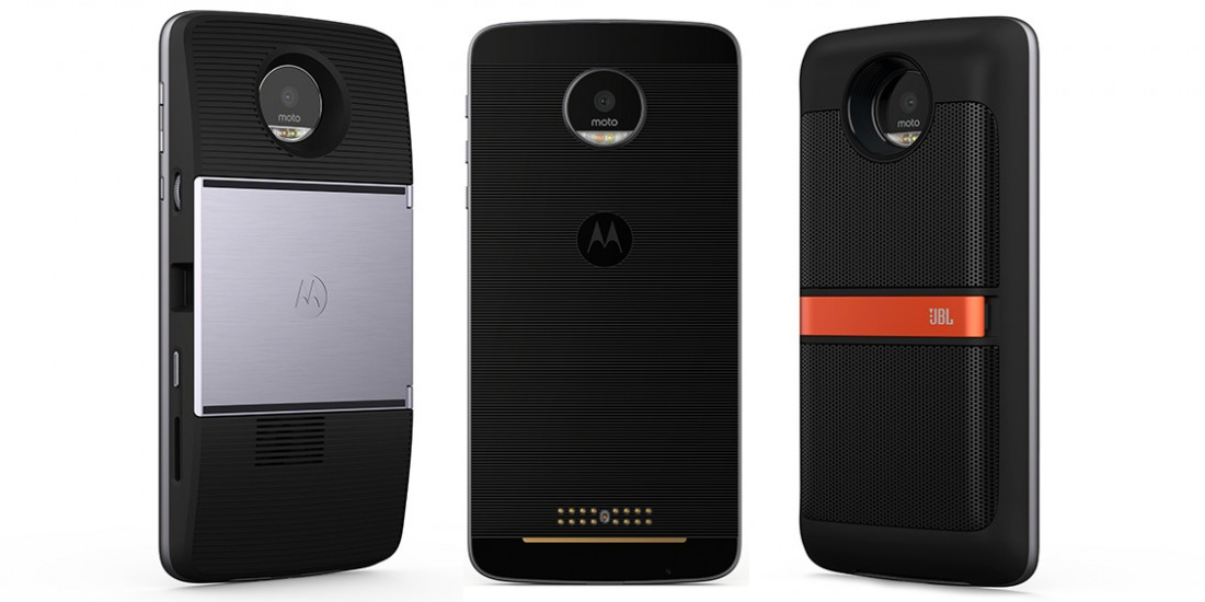 Moto Z Play, new modular smartphone presented at the IFA 2016 1