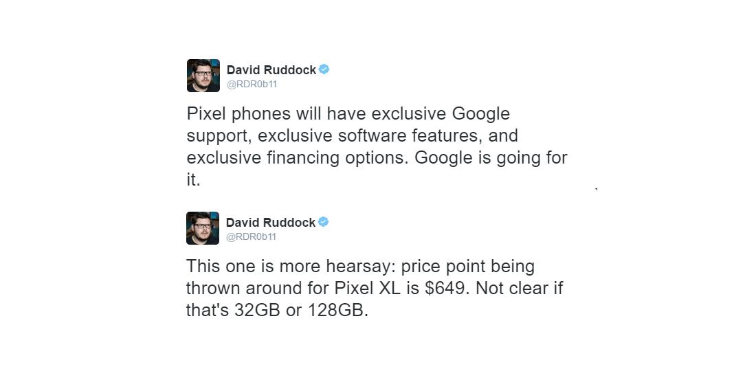 Google Pixel: SoC Snapdragon 821 y Android 7.1 Nougat preinstalado 1