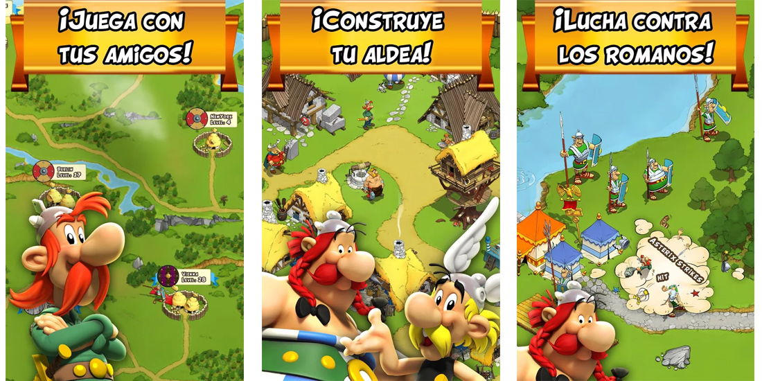 Asterix and Friends disponible mundialmente para Android e iOS 1