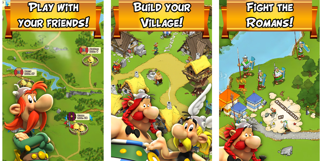 Asterix and Friends globally available for Android and iOS 1