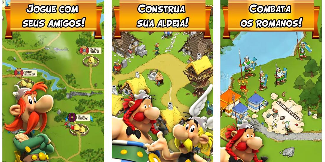 Asterix and Friends disponivel em todo o mundo para Android e iOS 1