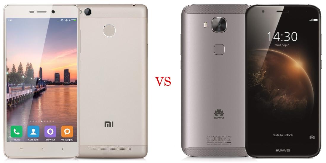 Xiaomi Redmi 3 Pro vs Huawei G8 1