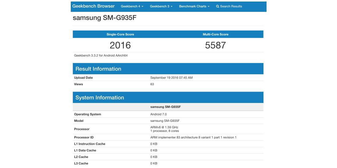 Samsung Galaxy S7 inicia los tests para actualizarse a Android Nougat 1
