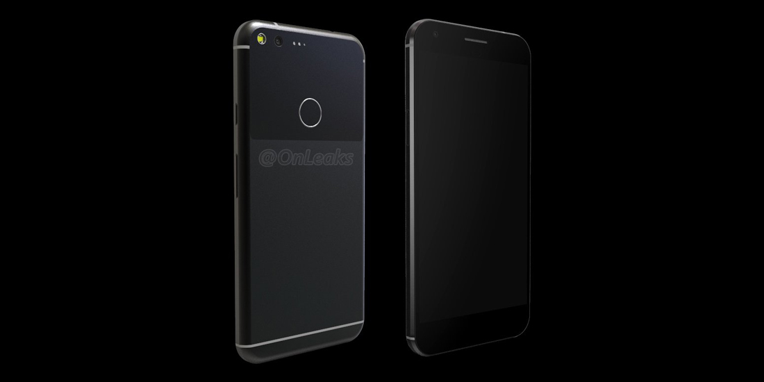 Google Pixel XL shown in video with full dimensions 1