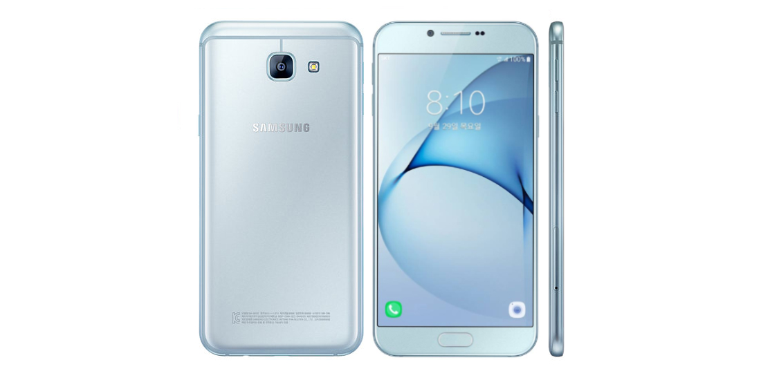 Samsung announces phablet Galaxy A8 (2016) 1