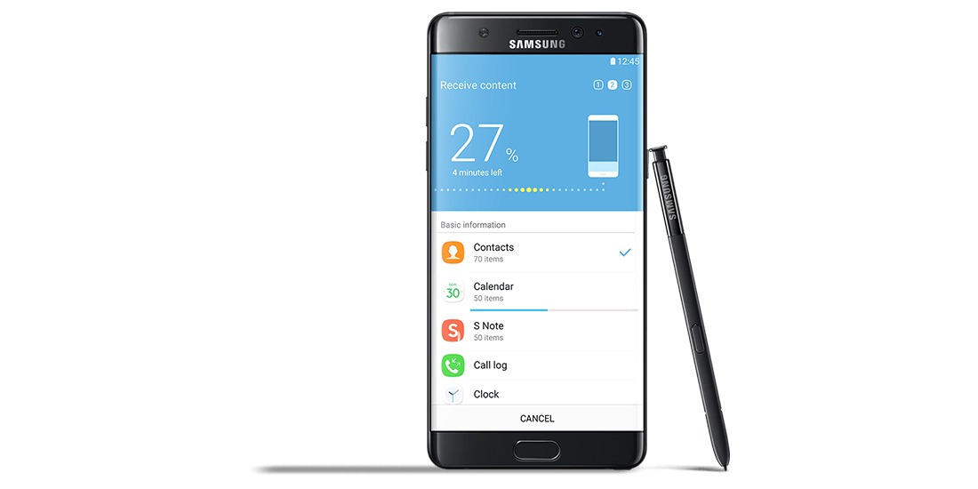 Samsung Galaxy Note 7 em venda na Europa desde 28 de outubro 1