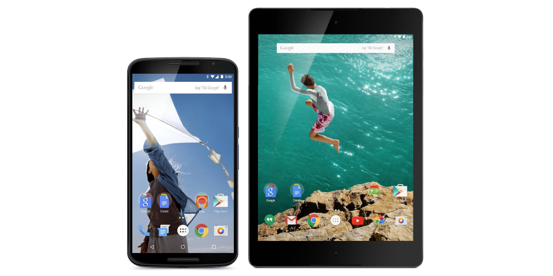 Nexus 6 and Nexus 9 updated to Android Nougat 1