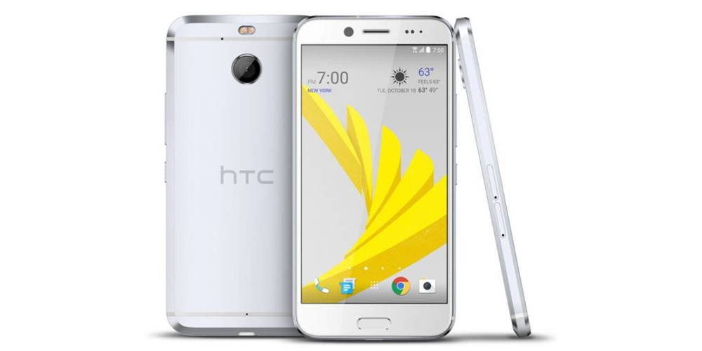 HTC Bolt com Android Nougat a bordo e um fato 1