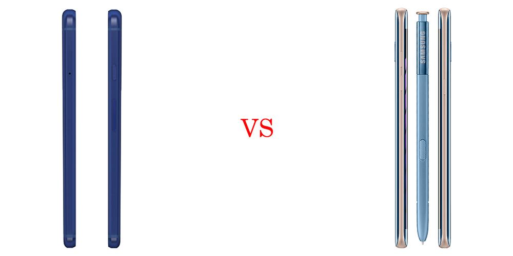 Google Pixel XL versus Samsung Galaxy Note7 5