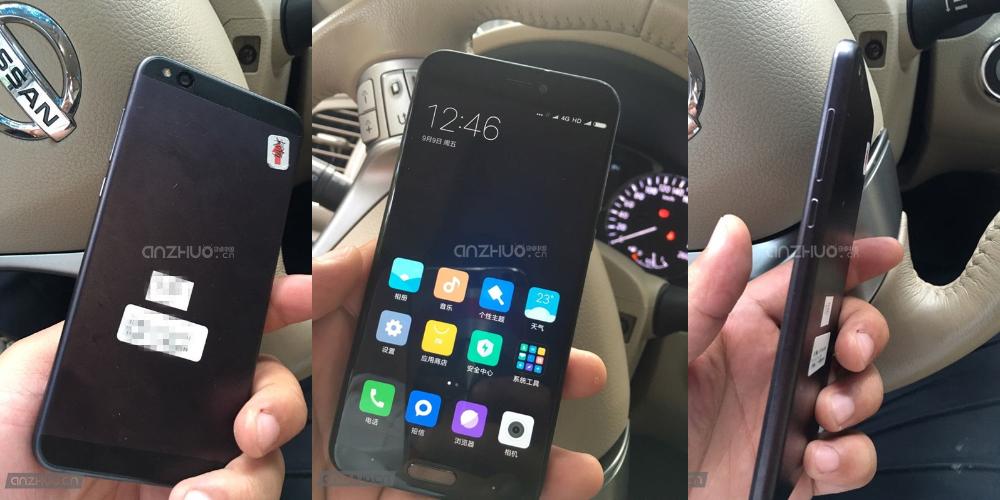 Posible Xiaomi Mi5c hecho por completo de metal 1