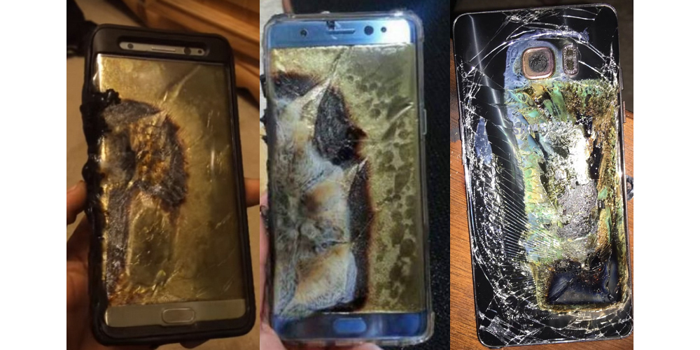 Samsung stops the sale and suspends production of Galaxy Note 7 1