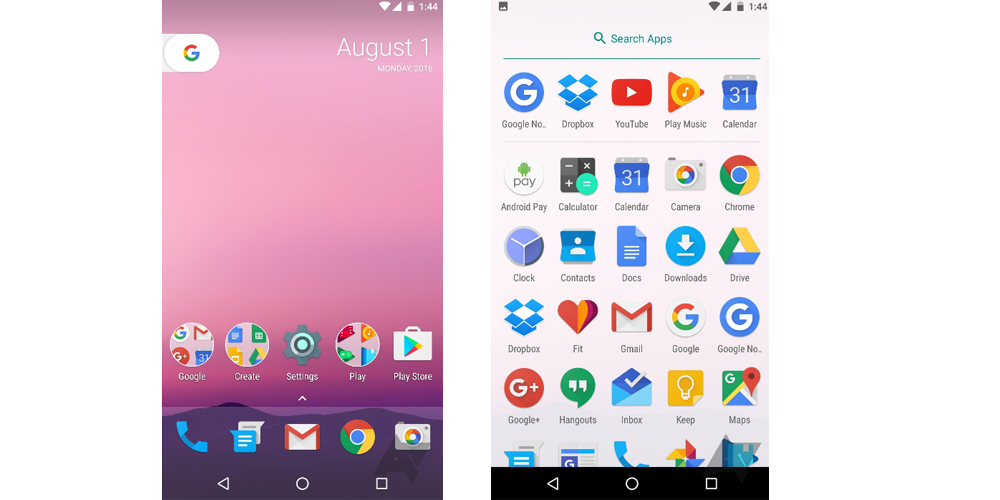 Android 7.1 Developer Preview previsto para finales del mes de octubre 1
