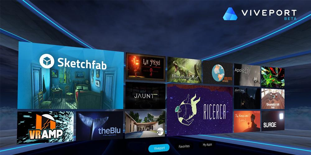HTC apresenta plataformas Viveport M e Viveport Arcade 1