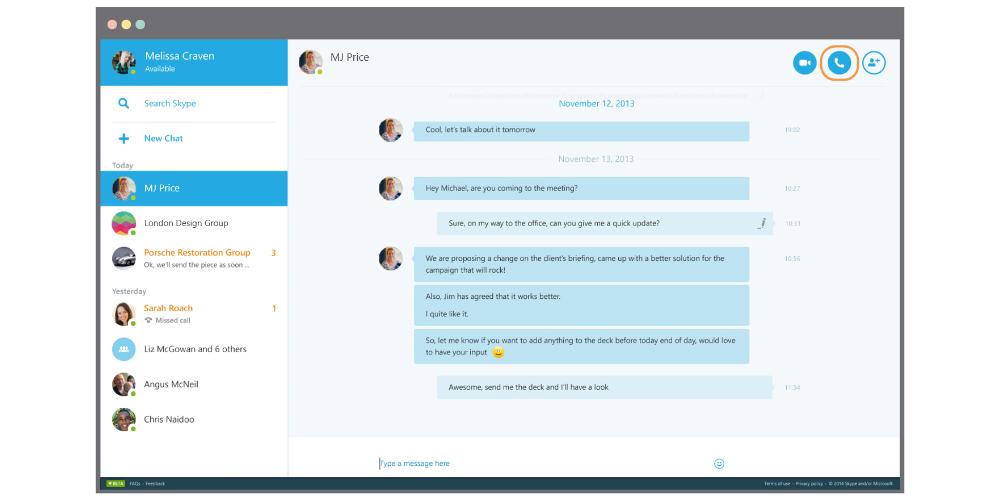 Microsoft empieza a eliminar Skype de Windows Phone y Android 1