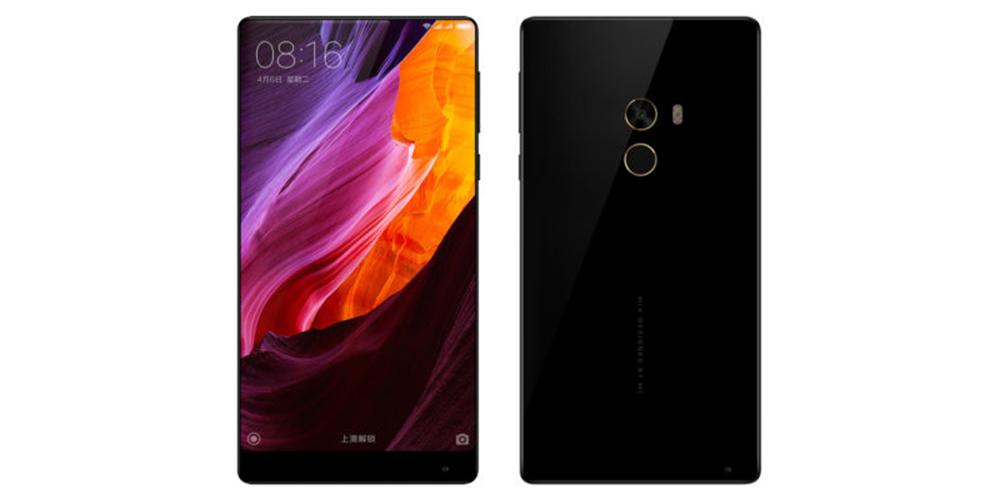 Xiaomi presents Mi Mix, new smartphone without frames 1