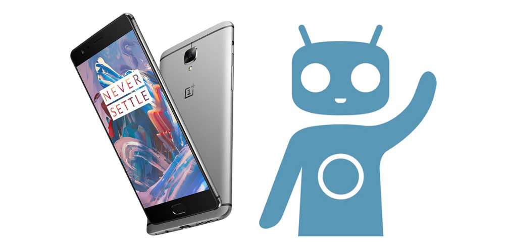 OnePlus 3 atualizavel a CyanogenMod 14.1 baseado no Android 7.1 Nougat 1