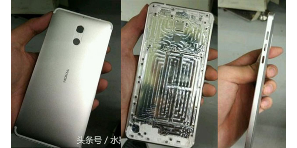 First pictures of a new Nokia Android smartphone 1