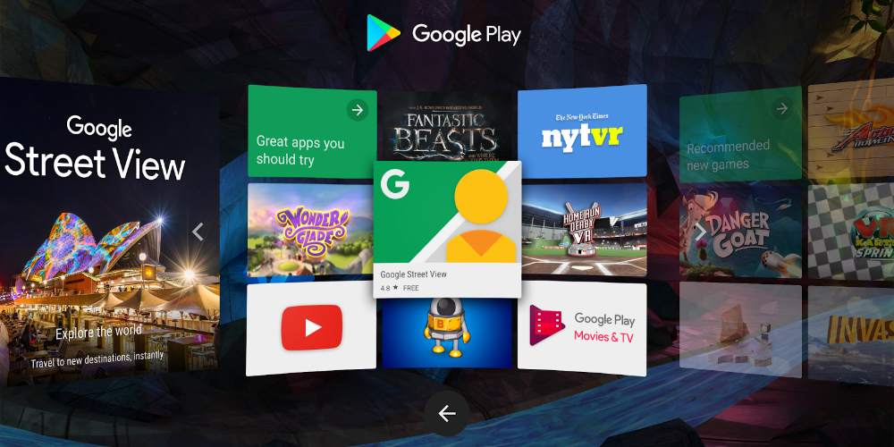 Daydream disponivel para download na Play Store 1
