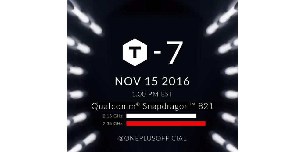 OnePlus 3T va a ser presentado el 15 de noviembre 1