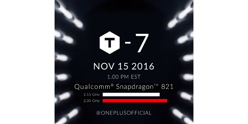 OnePlus 3T to be unveiled on November 15 1