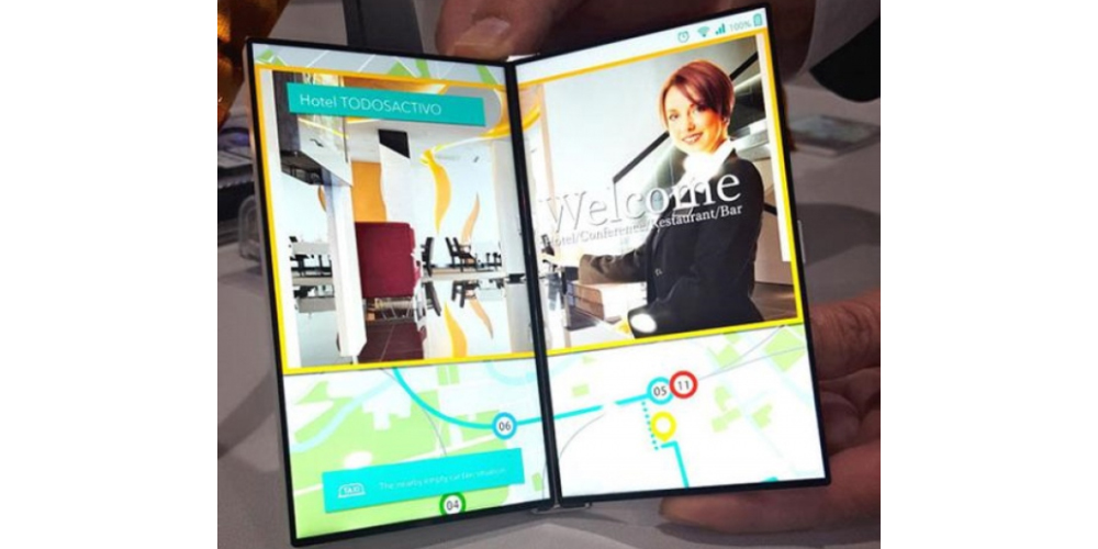 JDI presenta una pantalla dual plegable para smartphones 1