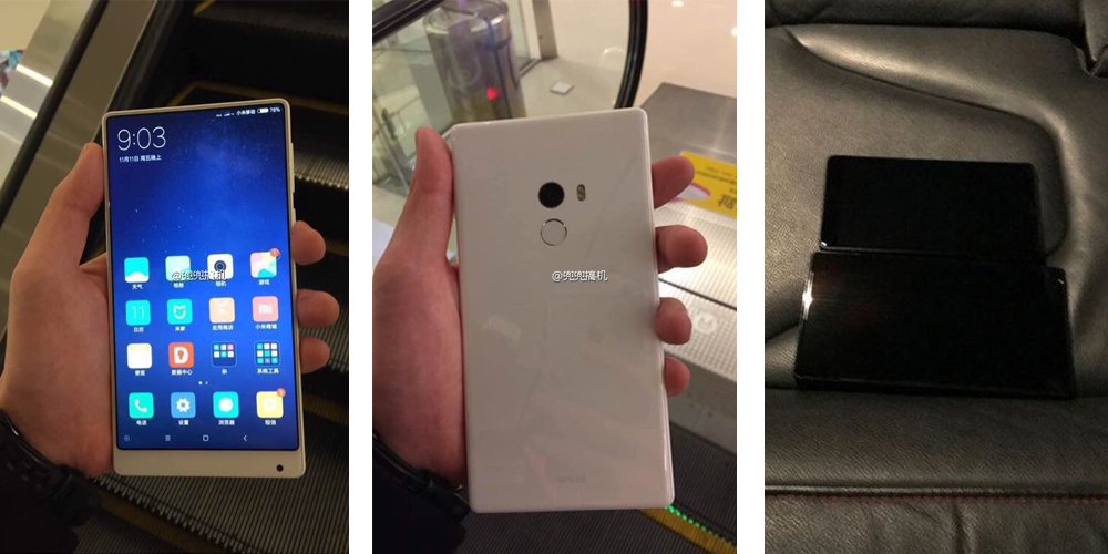 Xiaomi Mi MIX Nano y nueva variante en blanco 1