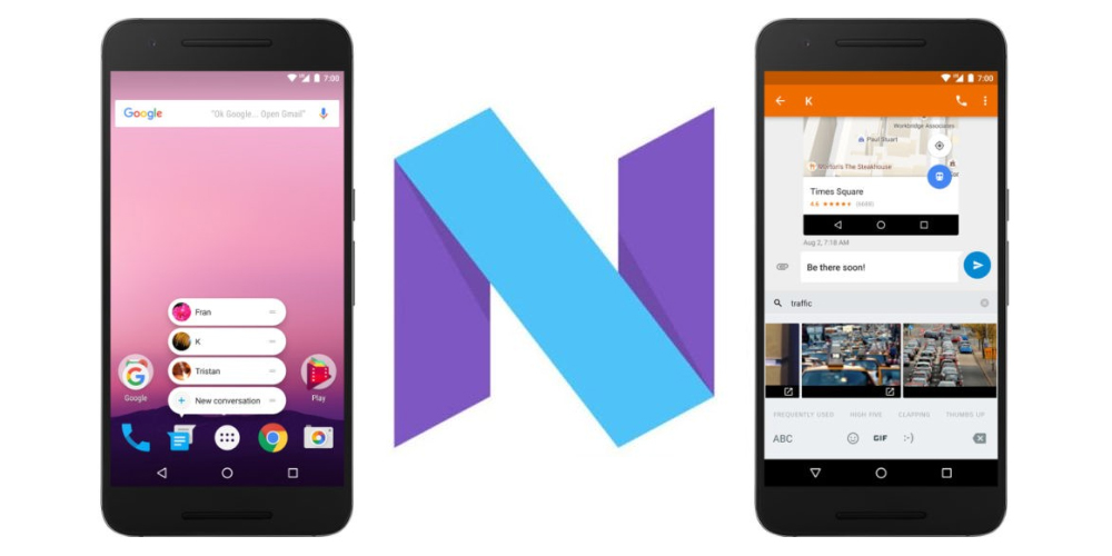 Android 7.1.1 Nougat Developer Preview 2 disponivel para Nexus 1
