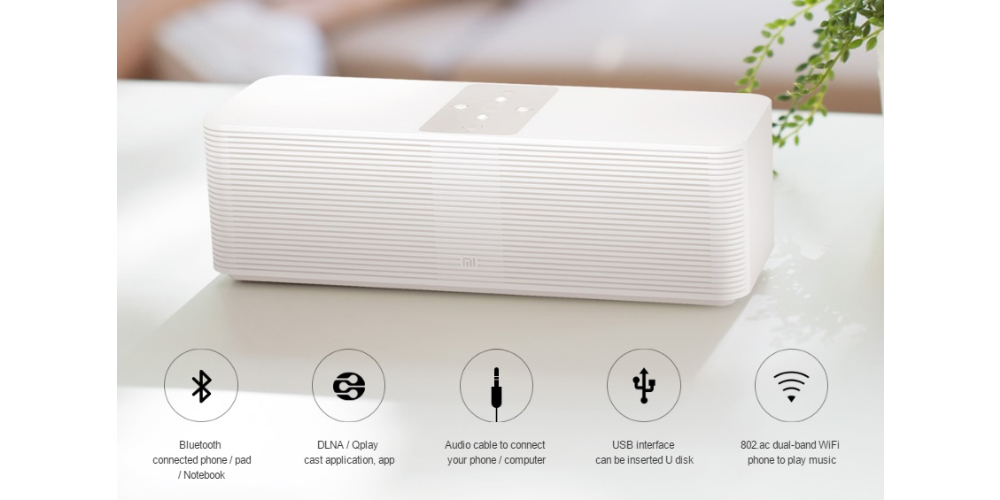 Xiaomi presents the new Internet Speaker (smart sound system) 1