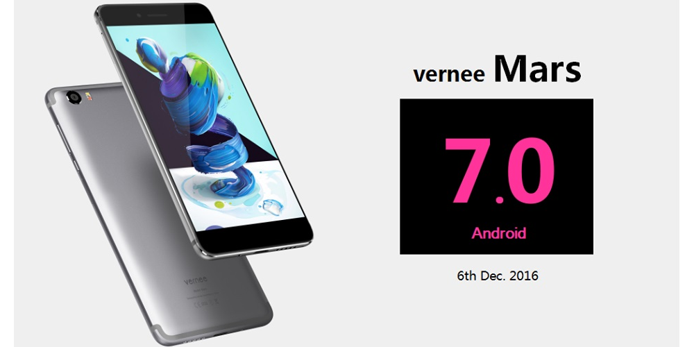 Vernee Mars se prepara para actualizarse a Android Nougat 1