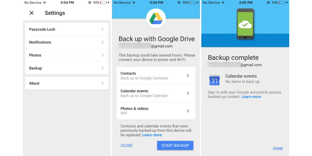 Google Drive facilita la transicion de iOS a Android 1