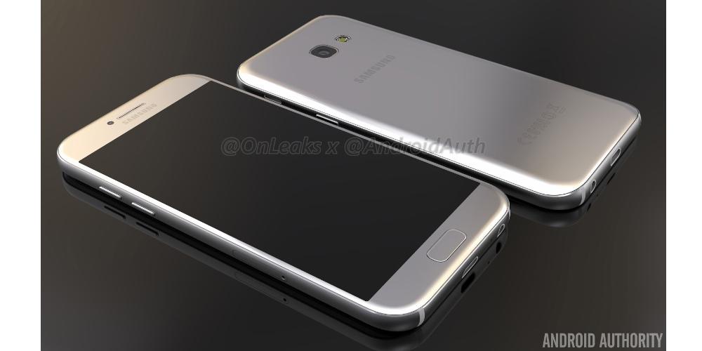 Galaxy Samsung A5 (2017) ya tiene fondos de pantalla y firmware 1