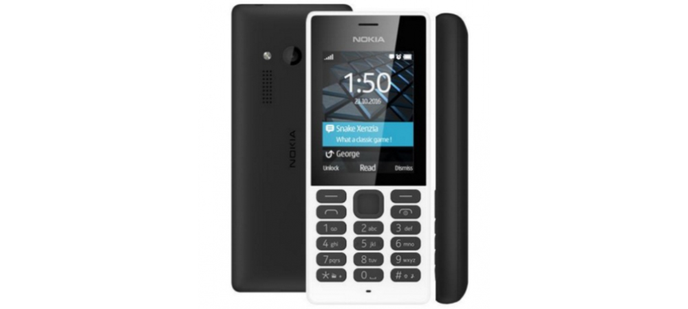 Nokia 150, feature phone with physical keypad and without Android 1