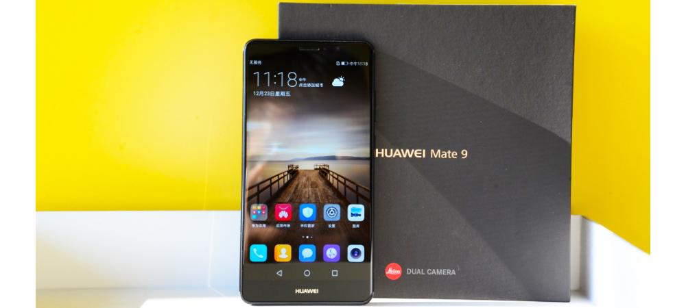 Huawei Mate 9 nuevo en color Obsidian Black en venta 1