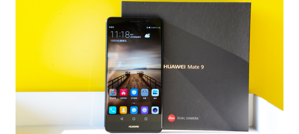 Huawei Mate 9 in new color Obsidian Black for sale now 1